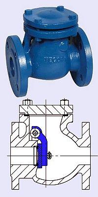 Commit error. 6 swinging check valve cast iron this